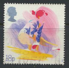 Great Britain SG 1388 -  Used - Sports
