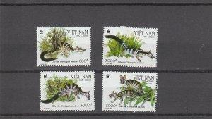 Vietnam  Scott#  3245-8  MNH  (2005 Owston's Palm Civet)