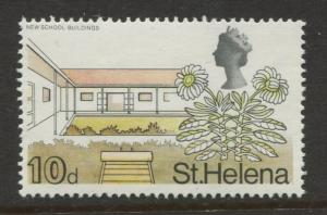 St Helena #217 MNH 1968 Single 10d Stamp