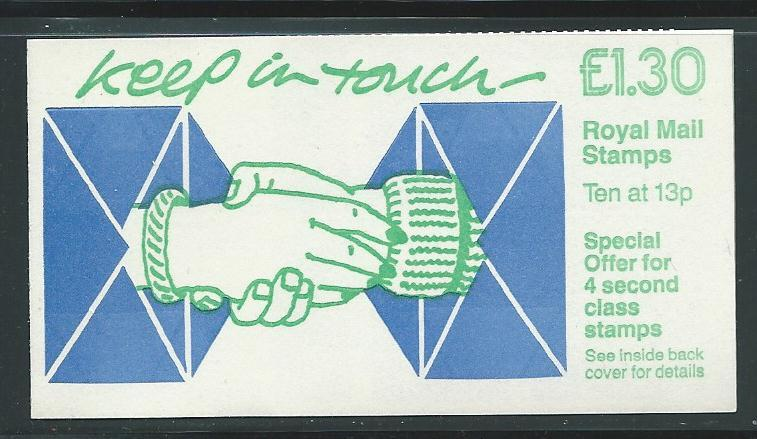 Great Britain L1.30 Keep in Touch BK527 s.g. FL8A MNH