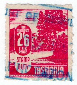 (I.B) Australia - Tasmania Revenue : Stamp Duty 2/6d
