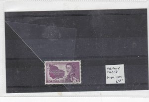 norfolk island mounted mint stamp  Ref 9377