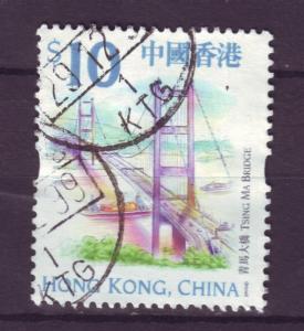 J4630 JLstamps @20% 1999 hong kong $10 fv used #872 $2.50v