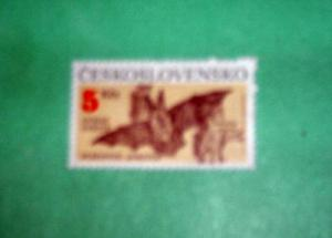 Czechoslovakia - 2807, MNH. Bats. SCV - $2.25