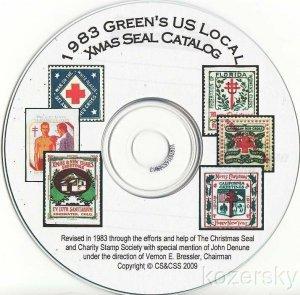 Green's Catalog, TB Seals, Part 2, U.S. Local TB Christmas Seals, 1983 ed., CD