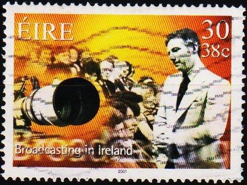 Ireland. 2001 30p S.G.1396 Fine Used