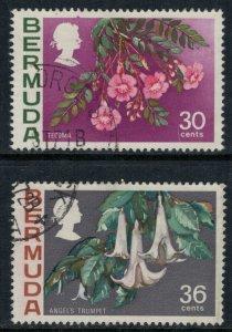 Bermuda #267-8  CV $4.00