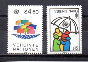 United Nations - Vienna 50-51 MNH
