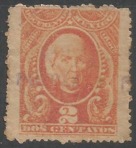MEXICO REVENUE 1889 PUEBLA R12-117