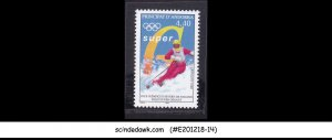 ANDORRA - FRENCH - 1998 WINTER OLYMPIC GAMES / SKIING - 1V MNH