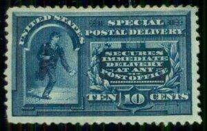 US #E4, 10¢ Spec. Delivery, og, hinge rem, scarce,  Scott $850.00