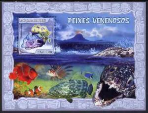 Mozambique MNH S/S Poisonous Fish