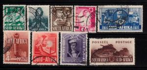 South Africa Sc.# 81-89 A & B Used (133-2)