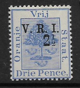 ORANGE RIVER COLONY, 47, MNH, ORANGE TREE, OVPTD OR SURCHD