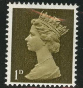 Great Britain Scott MH2 MNH** 1967 Machin