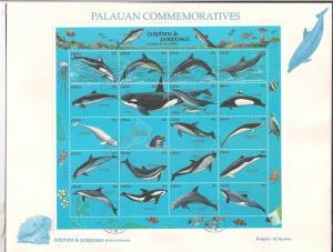 PALAU SC# 289 VF U 1991 1ST DAY P.C.