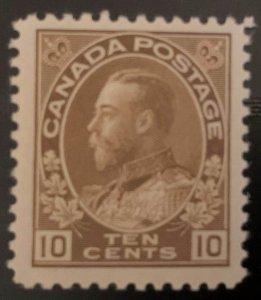 Canada #118 Mint VF NH C$180.00 Admiral