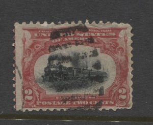 STAMP STATION PERTH US. #295 Used
