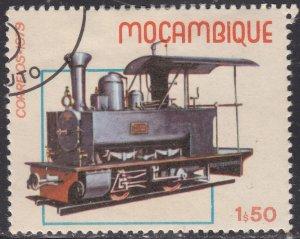 Mozambique 657  Historic Locomotives 1979