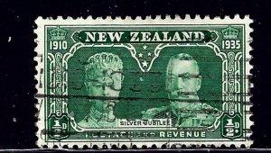 New Zealand 199 Used 1935 KGV Silver Jubilee (ap1063)