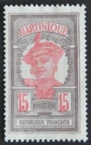 DYNAMITE Stamps: Martinique Scott #70 – UNUSED