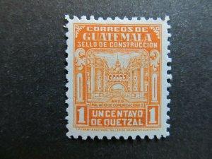 A4P10F35 Guatemala Postal Tax Stamp 1945 1c mh*