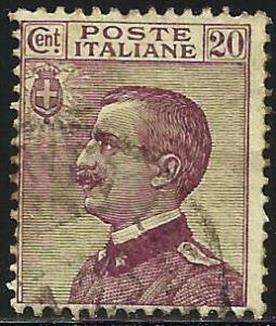 Italy 1925 Scott# 97 Used