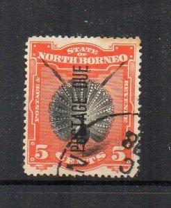 North Borneo 1897-99 8c Postage Due opt FU CDS