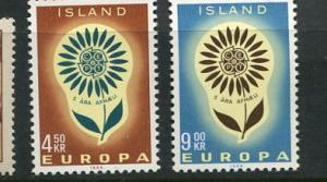 Iceland #367-8 Mint