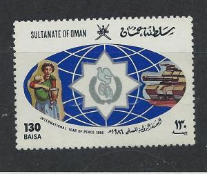 OMAN SC# 294 VF MNH 1986