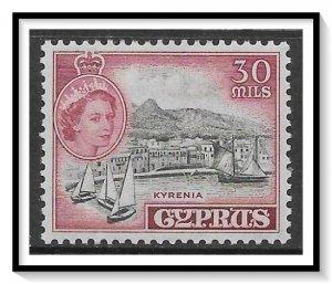 Cyprus #175 QE II & Coins MH