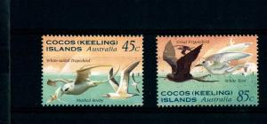 COCOS (KEELING) ISLANDS - Sea Birds of Keeling Island - MNH