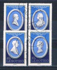 Lesotho 301a-d Used set Royalty 1980 (HV0193)+