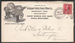 Scott # 267, Emery Wheels, Bridgeport CT