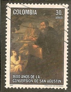Colombia   Scott C777   St. Augustine   Used