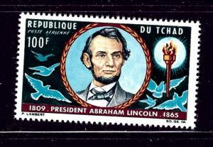 Chad C22 MNH 1965 Abraham Lincoln