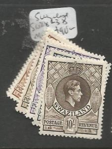 Swaziland SG 28-38 MOG (3cqu)