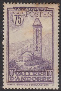 French Andorra 44 MLH (see Details) CV $11.50
