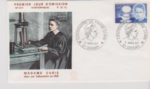 FRANCE STAMPS FDC -YEARS 1967 -MARIE CURIE # LOT#A-07