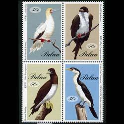 PALAU 1994 - Scott# 324 Large Seabirds Set of 4 NH