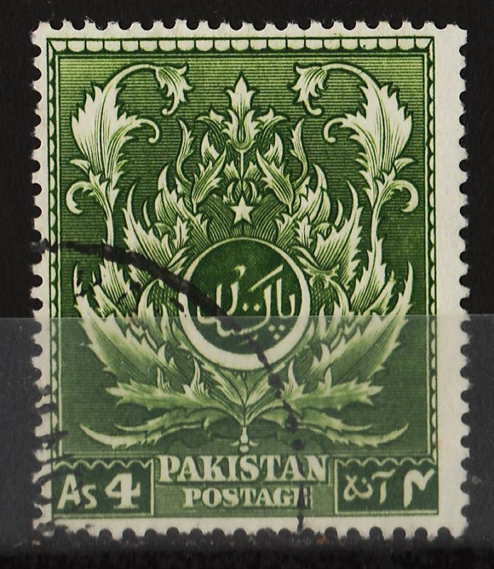 Pakistan 1951 4th Anniv. of Independence 4A (1/9) USED
