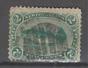 COLLECTION LOT # 3211 NEWFOUNDLAND #24 1865 CV=$30