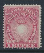 British East Africa Company  SG 14  SC#24  Mint Hinged - perf 14 -  see details