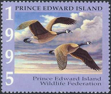 PRINCE EDWARD ISLAND  WILDLIFE STAMPS 1995-2008 (14) IN MINI BOOKLETS