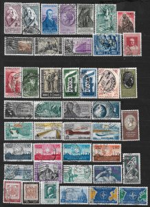 COLLECTION LOT OF # 843 ITALY 43 STAMPS 1954+