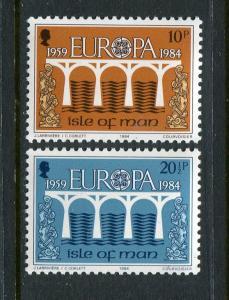 Isle Of Man #260-1 MNH 1984 Europa