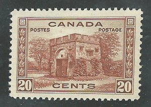 Canada #243   Mint  NH VF  1938  PD