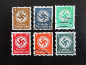 Germany #O80-86 Used - I Combine Shipping (7EG9)