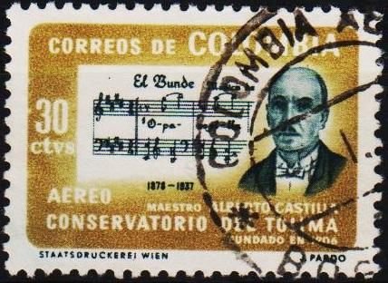 Colombia. 1964 30c S.G.1149 Fine Used