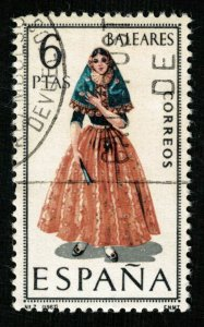 Spain, BALEARES, 6 PTAS (4035-т)